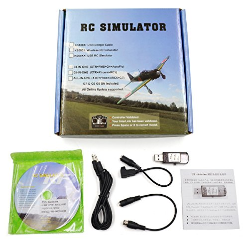22-in-1-RC-USB-Flight-Simulator-Kabel-fr-Realflight-G7-G6-G55-G5