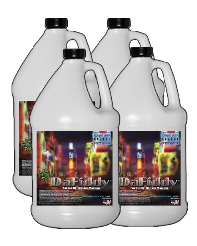 4 Gal - Dafiddy - Oil-Based And Oil-Less Haze Juice Fluid For Df-50 Machine Fluid Type: Oil-Based Fluid