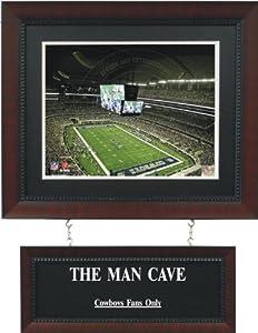 Dallas Cowboys - Cowboys Stadium Man Cave Sign by Worldwide Memorabilia