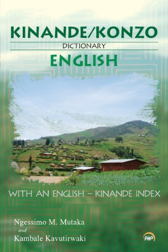 Kinande Konzo English Dictionary