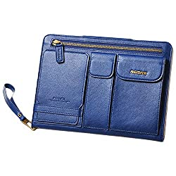 Remax Pedestrian Leather Case For Ipad Air Blue