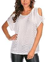 La belle parisienne Camiseta Manga Corta Gaelle (Blanco)