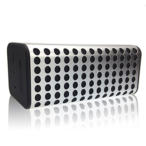 Click to buy [BEST NEW RELEASE] InnKoo B2 Portable Wireless Bluetooth Speaker, Creative Aluminum Alloy Shell, Powerful Sound with Enhanced Clean Bass, Ultra-long Battery Life, Bluetooth 4.0 (Black) - From only $18