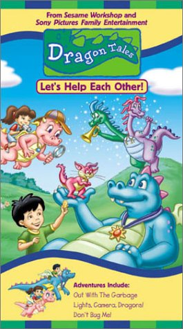 Dragon Tales - Let's Help Each Other [VHS]