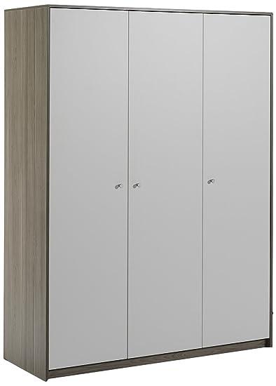 Schardt Armoire 3 Portes Classique Line Chêne Sauvage
