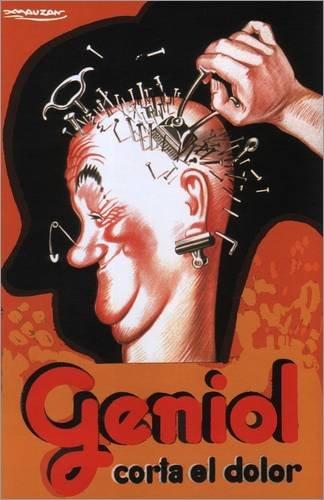 Stampa su tela 40 x 60 cm: Geniol Corta el dolor di Achille Lucien Mauzan - poster pronti, foto su telaio, foto su vera tela, stampa su tela