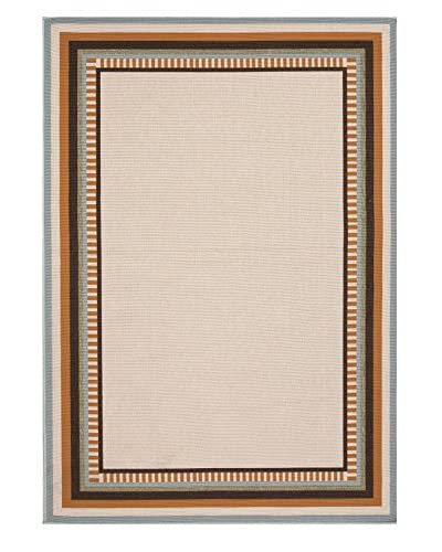 Jaipur Rugs Layered Border Indoor/Outdoor Rug