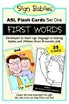 Sign Babies ASL Flash Cards-Set 1: Fi...