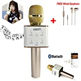 Multi Magic Karaoke Microphone Wireless, MM Portable Handheld Singing Machine Condenser Microphones Mic And Bluetooth...