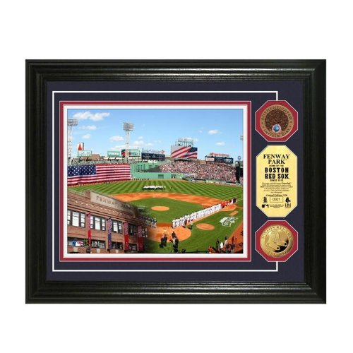 Boston Red Sox Fenway Park Gold & Infield Dirt Coin Photo Mint at Amazon.com