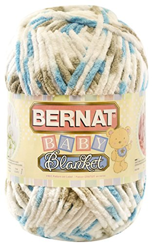 Bernat Baby Blanket Yarn, 10 5 Ounce, Little Teal Dove