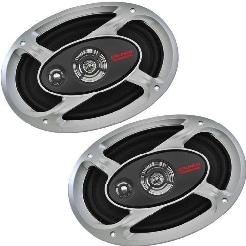 Crunch P1-693 6 X 9-Inch Three-Way 1000 Watts Maximum - 80 Continual Speaker System
