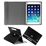 ACM ROTATING 360° LEATHER FLIP CASE FOR APPLE IPAD MINI 2 TABLET STAND COVER HOLDER BLACK