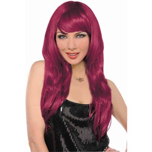 wig glamorous burgundy - 1