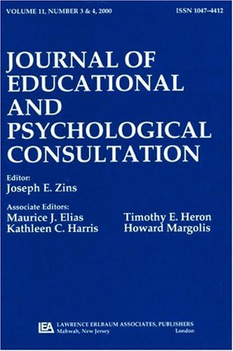 Training in Consultation: State of the Field:a Special Double Issue of journal of Educational and Psychological Consulta