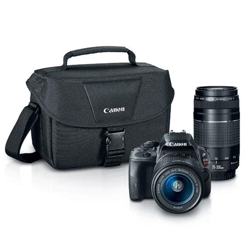canon-eos-rebel-sl1-digital-slr-with-18-55mm-stm-75-300mm-f-4-56-iii-lens-bundle-black