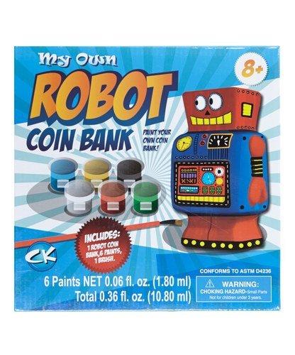 My Own Robot Coin Bank # 1 Amazon Best Seller