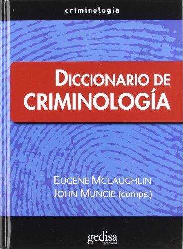 DICCIONARIO DE CRIMINOLOGIA descarga pdf epub mobi fb2