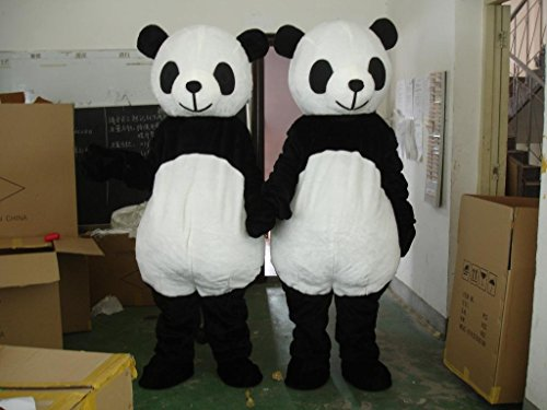 Cute Panda Mascot Costume Cospaly Cartoon Character Adult Size