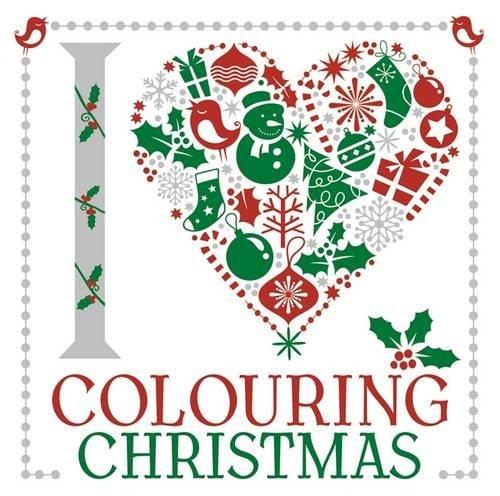 I Heart Colouring Christmas (Colouring Book)