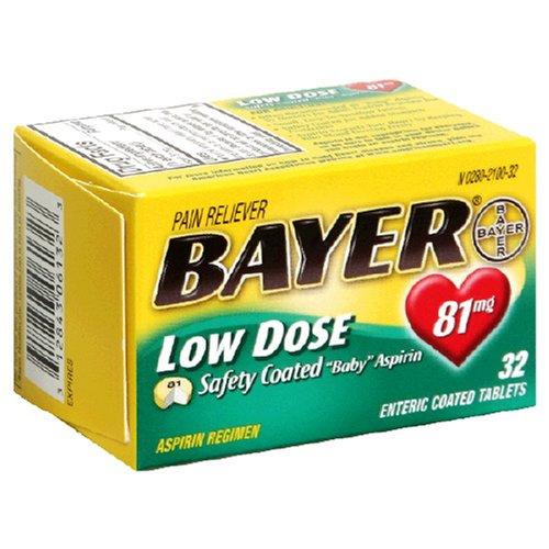 Bayer baby aspirin 81 mg