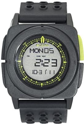 Columbia Men's CA010052 Meridian Square Digital Multi-Functional Black and Green Sports Watch