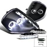 Eclipse Twin Halo Smd Led Stripe Projector Headlight+Led Fog Lamp Drl