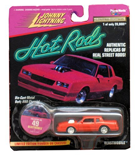 Johnny Lightning Hot Rods Collector No. 49 Beastmobile 1:64 Scale Die Cast Model - 1