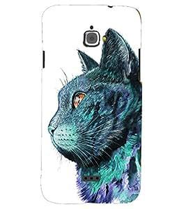 PRINTSHOPPII CAT Back Case Cover for InFocus M350