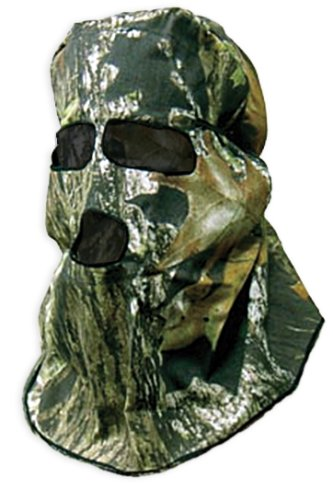 Primos Ninja Cotton Full-Hood Face Mask - Mossy