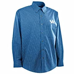 Kentucky Esteem Button Down Dress Shirt (Team Color) by Antigua