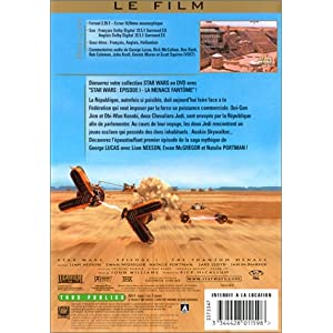 Star Wars - Episode I : La menace fantôme [Édition Single]