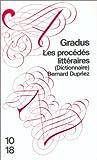 echange, troc Bernard DUPRIEZ - Les procédés littéraires (Dictionnaire)