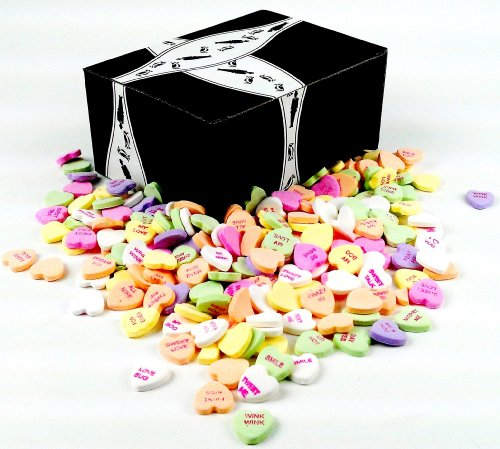 Necco Classic Sweethearts Conversation Hearts, 3 Lb Bag In A Gift Box front-293008