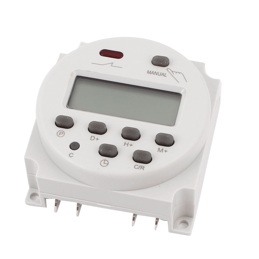 LCD Digital Programmable Power Timer Switch Time Relay 16A AC/DC 110V electrical appliance programmable digital timer with lcd display ac 220v