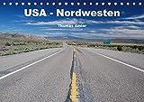 USA - Nordwesten (Tischkalender 2017 DIN A5 quer): Highlights einer Reise durch den Nordwesten von Amerika (Monatskalender, 14 Seiten ) (CALVENDO Orte)