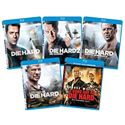 The Die Hard 1-5 Collection  [Blu-ray]