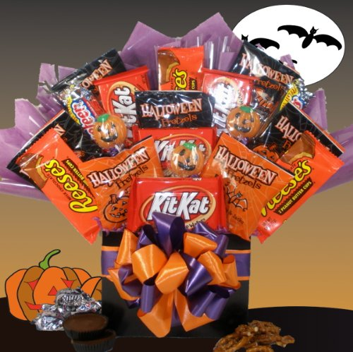 Happy Haunting Halloween Gift Basket - For Kids - For Her - For Him