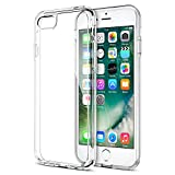 iPhone 7 Case, Trainium [Clarium Series] Premium Shock Absorption TPU Bumper Cushion + Scratch Resistant Clear Protective Cases Hard Cover for Apple iPhone 7 2016 - Clear (TM000019)