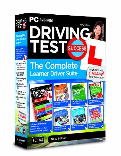 Sale alerts for Focus Multimedia Ltd Driving Test Success the Complete Learner Driver Suite 2013/14 Edition (PC) - Covvet