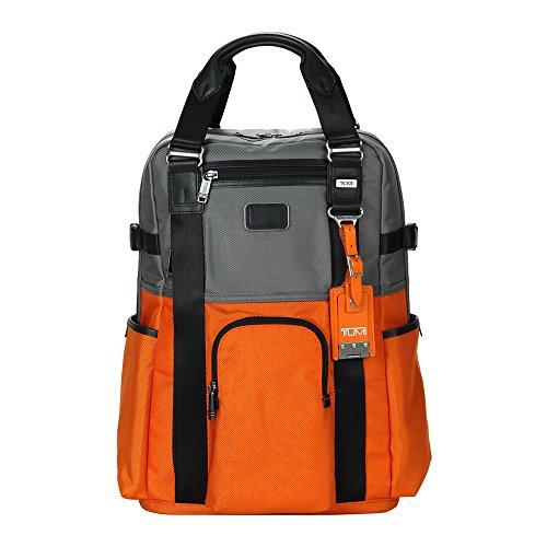 (トゥミ)TUMI Alpha Bravo アルファ ブラヴォ Lejeune Backpack Tote ルジュヌ バックパック トート グレー・オレンジ 22380 トートバッグ バックパック並行輸入品