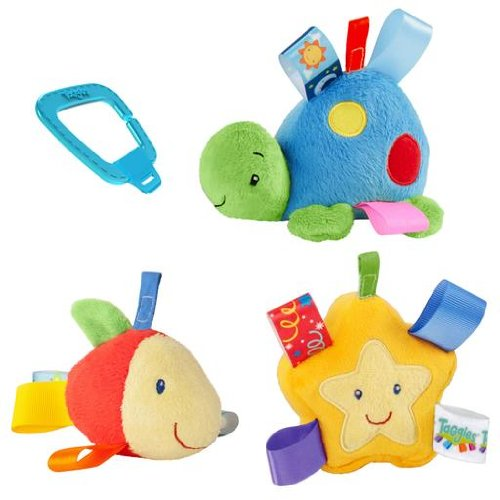 Taggies Soothing Sea Links Baby Toy front-966307