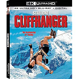 Cliffhanger [4K Ultra HD + Blu-ray]