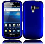 Samsung Galaxy Exhilarate i577 Rubberized Cover Blue