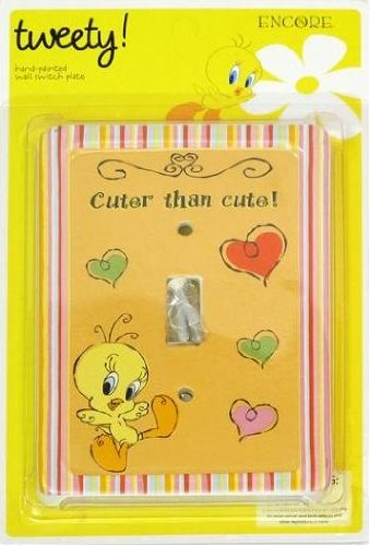Tweety Bird - Cuter than Cute! Wall Switch Plate by Encore - 1