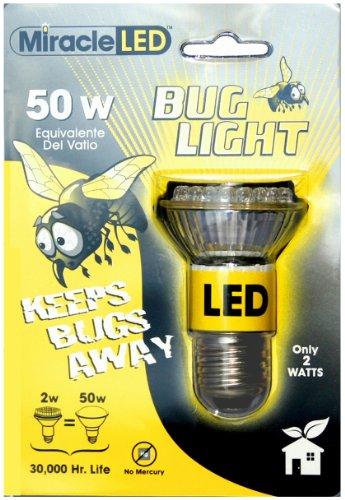 Miracle LED 605023 Bug Lite Bulb, White