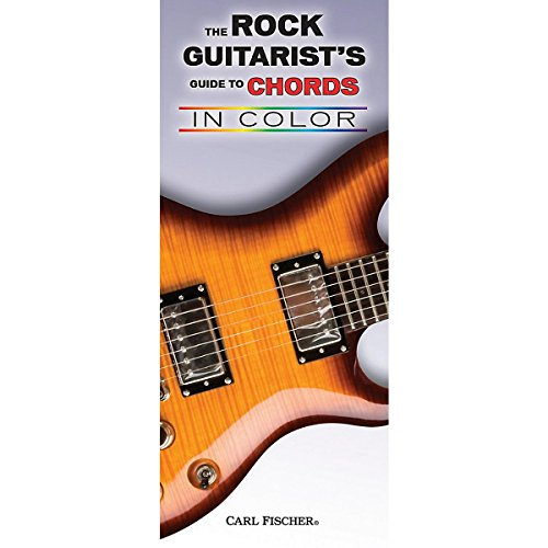Carl Fischer The Rock Guitarist's Guide to Chords in Color (Power Chord Chart compare prices)