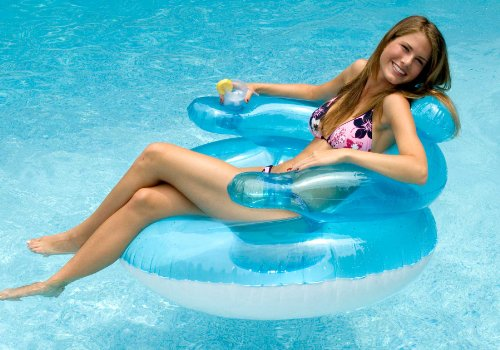 Bubble Chair Pool Float Lounge Chair front-825854