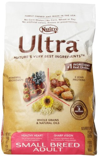 Ultra Dog Small Breed Adult Dog Food 4- Pound