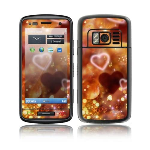Love Love Love Design Decorative Skin Cover Decal Sticker for Nokia C6 01 Cell Phone